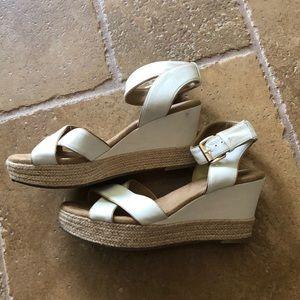 White Mountain Shoes - White Mountain Wedge White